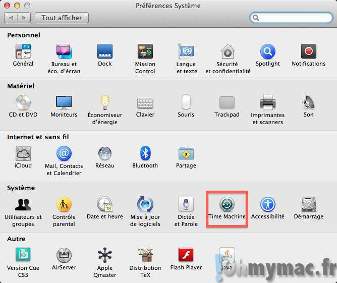 Programmer l'heure et la fréquence des sauvegardes Time Machine sur Mac