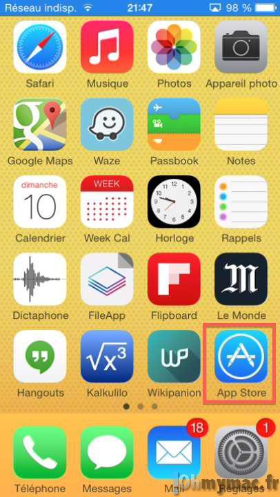 Utiliser une code iTunes, une carte cadeau ou Passbook sur l'App Store ou l'iTunes Store