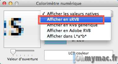 Obtenir le code couleur RGB de n'importe quelle couleur sur l'écran de votre Mac
