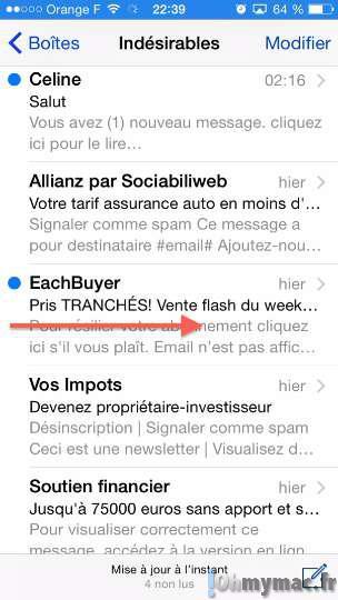iOS 8: gérer vos emails et recevoir des alertes rapidement avec votre iPhone et iPad