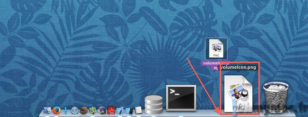 Ajouter un raccourci vers n'importe quel fichier dans le Dock du Mac