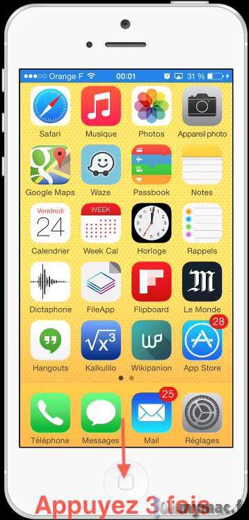 iOS 8: ajustez la luminosité de l'écran plus rapidement que jamais avec le bouton Home sur iPhone/iPad