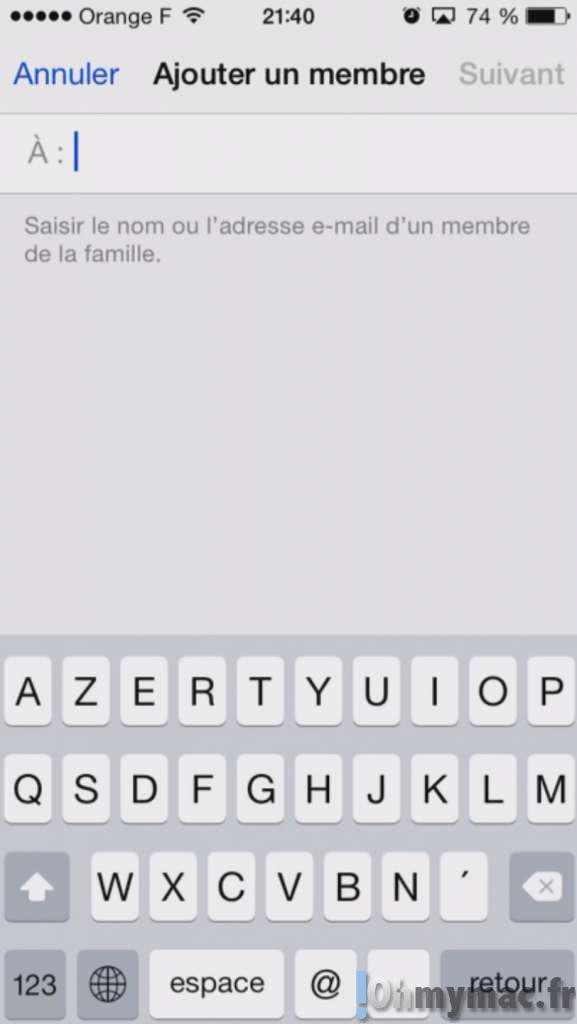 iOS 8, iCloud et Mac: activer le partage familial et partagez achats, photos, calendriers avec votre famille