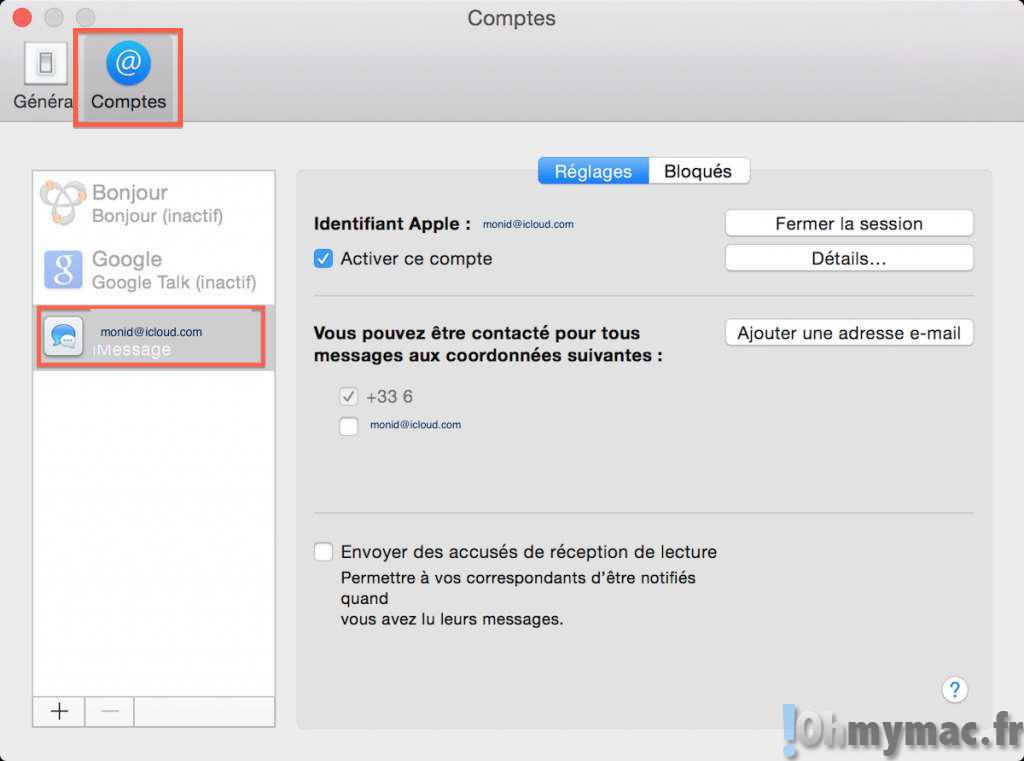 iOS 8 et OS X Yosemite: activer Transfert de SMS et recevez vos SMS sur tous vos appareils