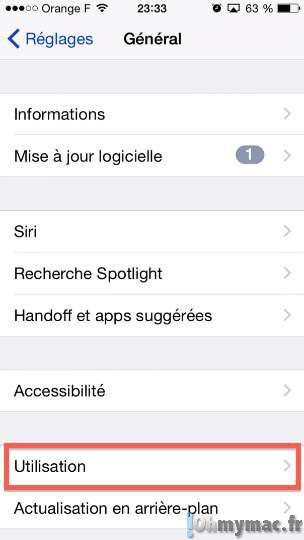 iOS 8: trouver les apps qui consomment le plus de batterie