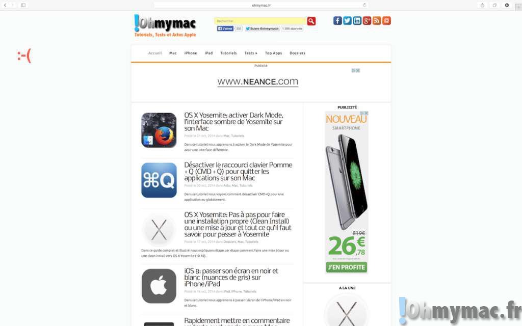 OS X Yosemite: éviter le plein écran et retrouver le comportement normal du bouton vert