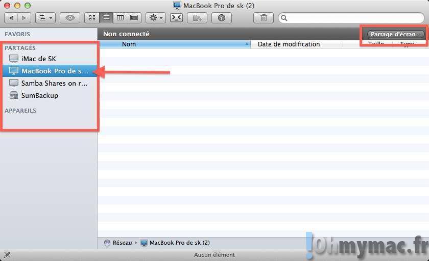 Accédez à votre Mac à distance grâce à iCloud et partagez votre écran