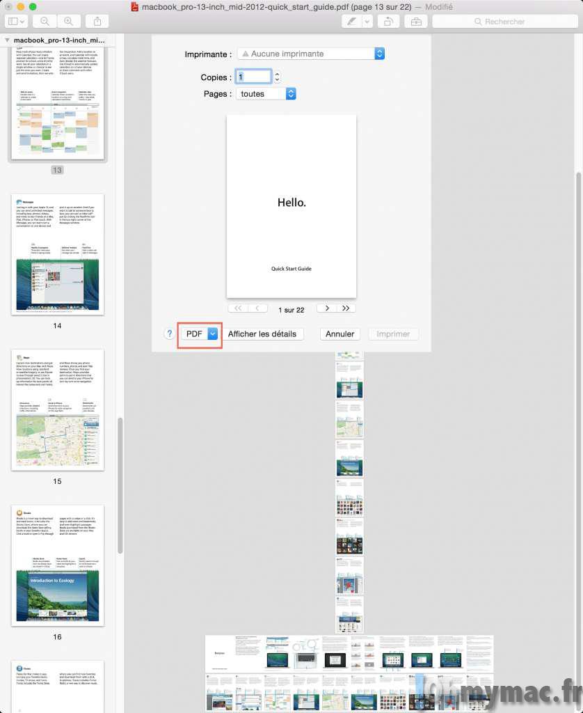 Assembler plusieurs PDF en un seul fichier: la méthode la plus simple sur Mac