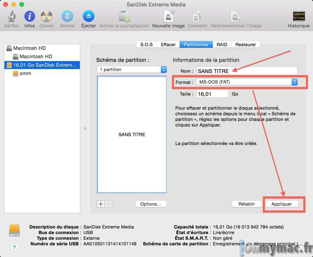 Créer un clef USB d'amorçage pour installer un système Linux (Ubuntu, Debian, Raspberry Pi, etc.) avec un Mac