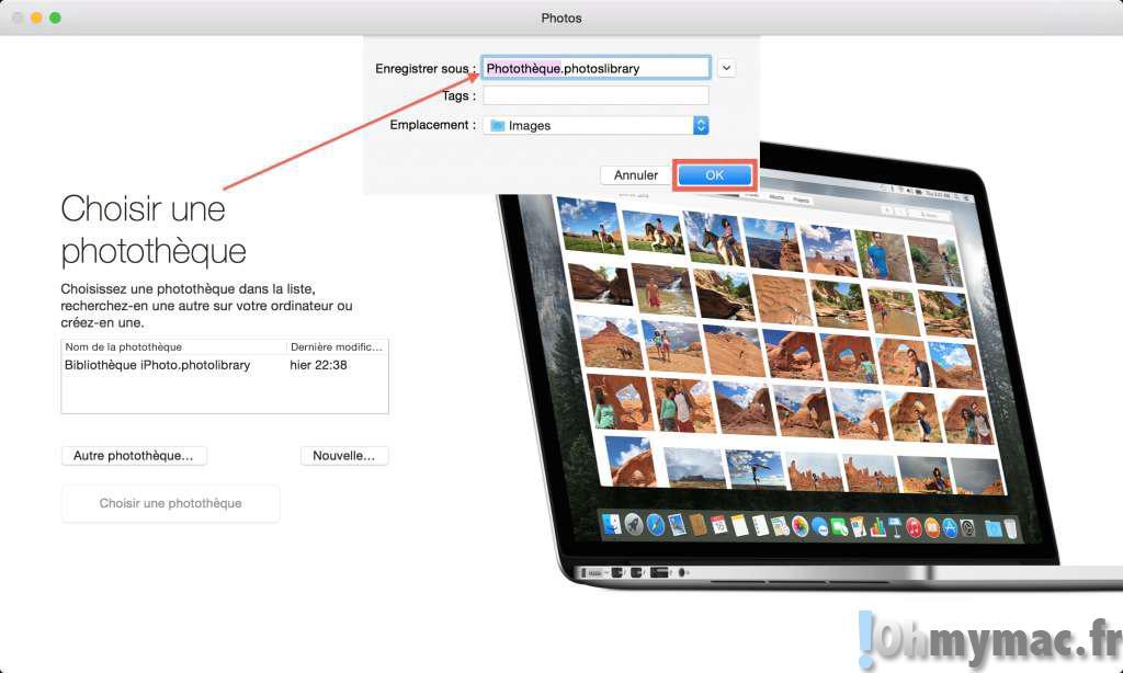 Empêcher Photos sur Mac de se lancer automatiquement à chaque branchement d'iPhone, iPad et autre appareil contenant des photos