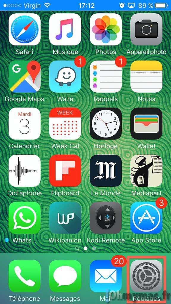 Afficher et réinitialiser les statistiques d'utilisation sur l'iPhone