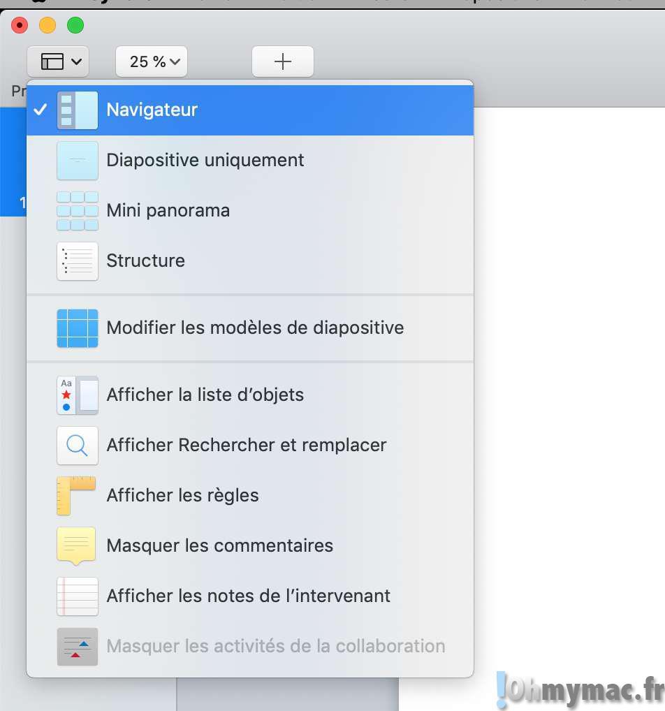 pdf keynote: Transformer vos PDF en slides de présentation Keynote sur votre Mac